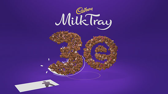 Cadbury Milk Tray 3e Ident