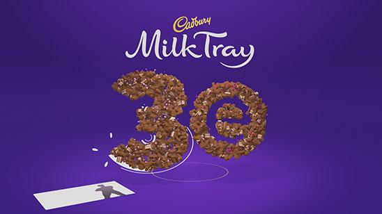 Cadbury Milk Tray 3e Ident