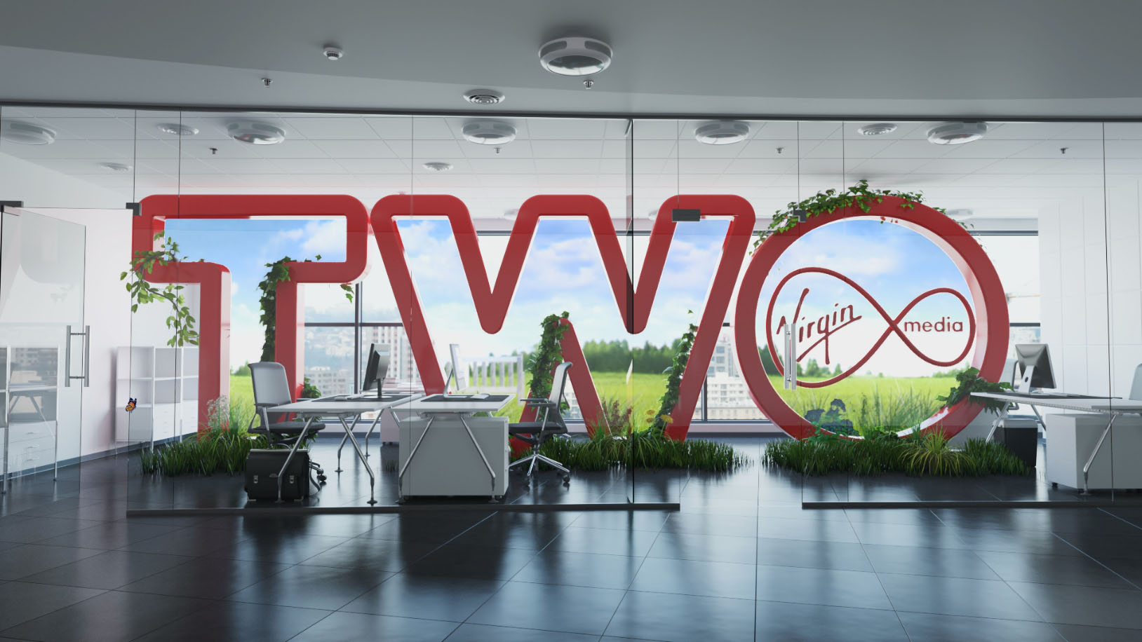 Virgin TWO Ident
