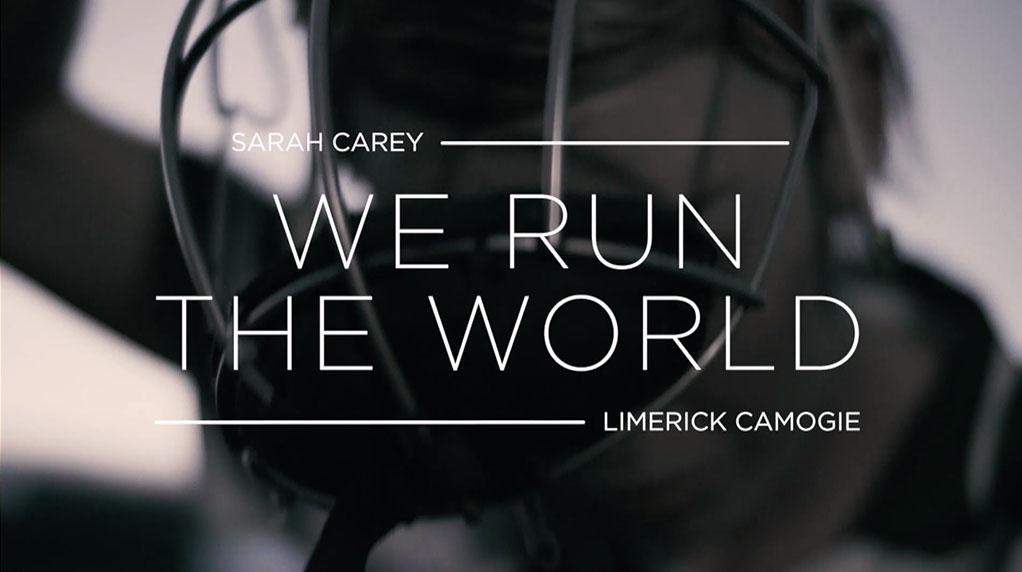 We Run the World title